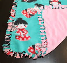 Making Fleece Tie Blankets   ThriftyFun & Making Fleece Tie Blankets Adamdwight.com