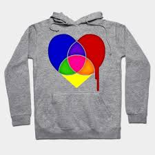 Hoodie Colour Chart Color Chart Heart