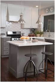 Narrow Kitchen Kitchen Contemporary Narrow Kitchen Island White Painted