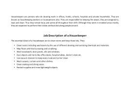 all resumes housekeeper resume housekeeper resume sample housekeeping job duties