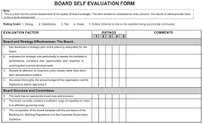 Performance Appraisal Sample Form 20 Self Evaluation Assessment Examples Questions Forms
