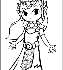 Printableda Coloring Pages For Kids Cool2bkids Video Game Stupendous