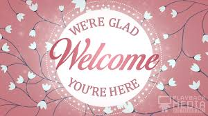 pink welcome pink mothers day welcome still background