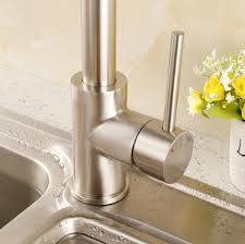 kitchen sinks and faucets. Luxice Modern Stainless Steel Single Handle Pull Down Spray Kitchen Sink Faucet, Brushed Nickel Finished \u2026 Sinks And Faucets T
