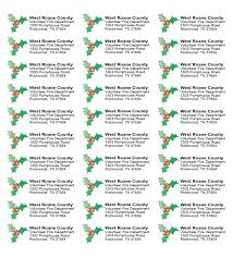 Avery 8167 Excel Template Avery Holiday Labels Right Side Image Return Address