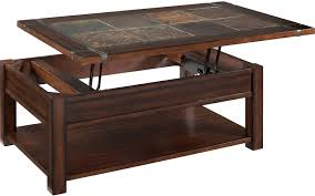 ... Roanoke Coffee Table With Lift Top And Casters The Brick