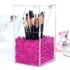 makeup holder acrylic makeup organizer with rosy pearls diy makeup holder box makeup palette holder target makeup holder