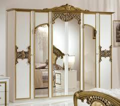 Schlafzimmer Weis Gold
