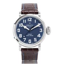 zenith watches the watch gallery® zenith pilot special edition stainless steel mens watch 03 2431 679 51 c765