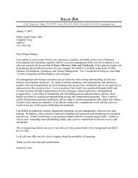 Executive Resume Cover Letter Examples Examples Of Resumes
