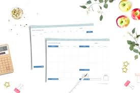Free Printable Family Budget Planner O Personal Finances Monthly