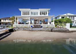 contemporary beach house plans airy beachfront home with contemporary casual style