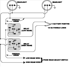 light relay wiring diagram wiring diagram and schematic design wiring driving lights to high beam at Wiring A Relay For Lights
