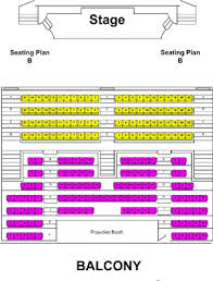 State Theater Seating Chart Seating Chart State Theatre Of Bay City