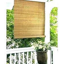 roll up boo shades outdoor blinds for patio exterior inside plans 3 vinyl bamboo canada