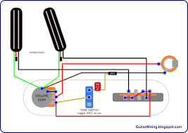 the guitar wiring blog diagrams and tips hot telecaster project Electric Guitar Humbucker Wiring Diagram Only the guitar wiring blog diagrams and tips hot telecaster project (with humbuckers) Guitar Pickup Wiring Diagrams