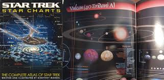 Star Trek Star Charts Book Spocks World Found Astronomers Discover Actual Planet