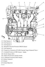 2009 chevrolet hhr crankshaft sensor i need to out where the theres only one crank sensor heres a diagram