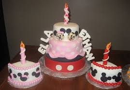 York Pa Bakery Makes Minnie And Mickey Mouse Birthday Cake For Twins