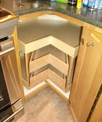 Corner Kitchen Furniture Picture Of Modern Corner Kitchen Cabinet With Drawers