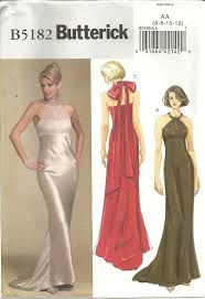 Prom Dress Sewing Patterns Stunning Butterick 48 Evening Gown Formal Bridesmaid Prom Dress Sewing