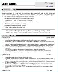 Military Resume Templates Enchanting Resume Builder For Veterans Beautiful Military Resume Template