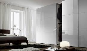 Contemporary Wardrobe  Wooden  Sliding Door TRENDY JESSE - Bedroom wardrobe sliding doors
