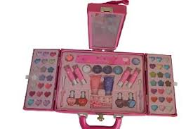 makeup kits for little girls. little girl makeup set in the case with mirror! makeup kits for little girls o
