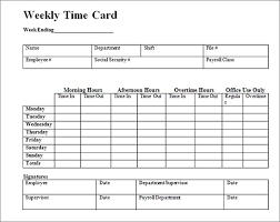 printable time card printable time cards effortless illustration weekly card template