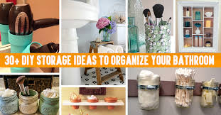 diy ideas for room organization. 30+ diy storage ideas to organize your bathroom diy for room organization