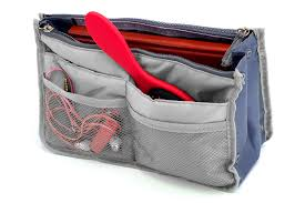 """<b>Органайзер</b> для <b>сумки Bradex</b> """"<b>Сумка в сумке</b>"""", цвет: серый ..."""