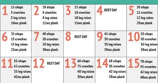 Roan Rider 30 Day Ab Challenge