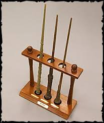 Harry Potter Wand Display Stand Harry Potter Wand Set With Display Rack Limited Edition Buy 9