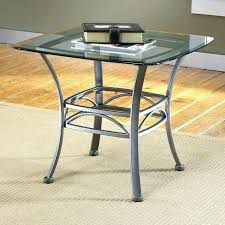 small glass top end tables metal architecture matrix modern black with coffee table for e