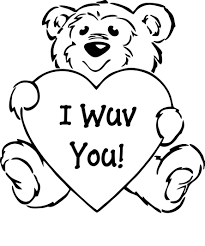 Valentine Coloring Sheets To Print Printable Coloring Page For Kids
