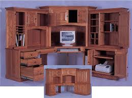 corner desk with hutch also oak corner desk with hutch also solid wood l shaped desk