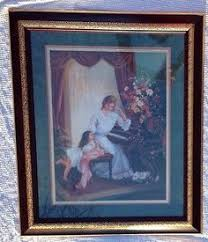 >45 best home interiors homco images on pinterest home decor home  large home interiors picture mother may i play by d giacomo collectible may iframed picturesplayslarge