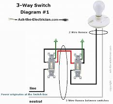 how to wire three way switches part 1 3 way switching diagram