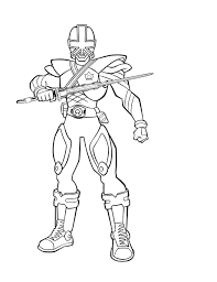 Cool Power Rangers Coloring Pages Free Coloring Book