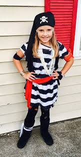 diy pirate costume with easy girl s made from size prisoner
