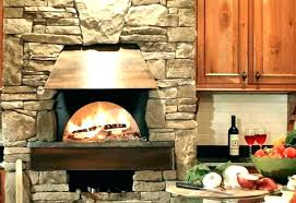 indoor pizza oven kitchen residential insert for fireplace brick