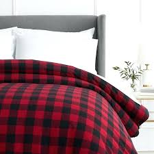 buffalo check duvet covers plaid bedding check bedding sets red buffalo check bedding red check duvet