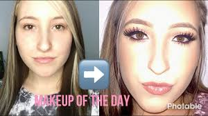 simple full face brown and copper eye makeup tutorial cie robinson