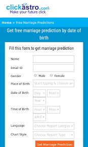 Www Clickastro Com Free Marriage Predictions Seo Report