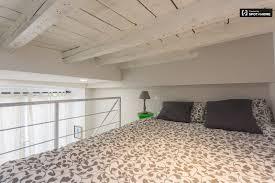 Mezzanine Bedroom Modern Studio Apartment With For Rent In Solari Milan Spotahome