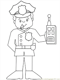 Police Coloring Pages Coloring Pages To Print Color Printing 5