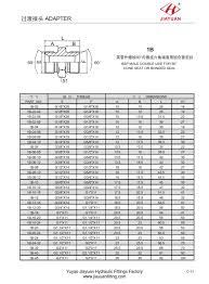 Bspp Chart China Custom Bsp Male Cone Bonded Sea Manufacturers