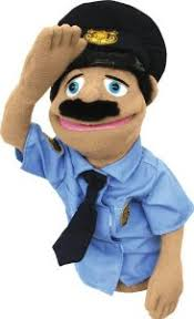 goodman sml puppet. melissa \u0026 doug police officer puppet with detachable wooden rod for animated gestures goodman sml g