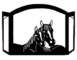 custom wrought iron fireplace screens. mare \u0026 foal horse portrait custom fireplace screen exclusive design made of heavy recycled steel american. screenswrought iron wrought screens