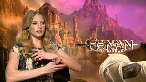 "Rachel Nichols (Tamara) Interview ""Conan the Barbarian"" (2011) - YouTube"